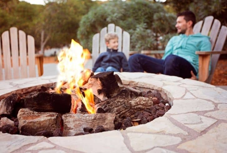 family-by-firepit
